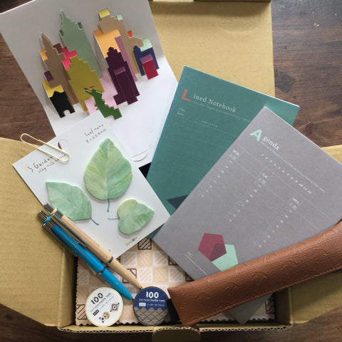 Yoseka Stationery Box:  September Edition