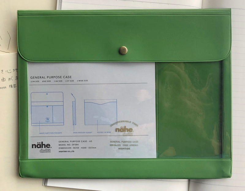 Nähe General Purpose Case - A5 - Green