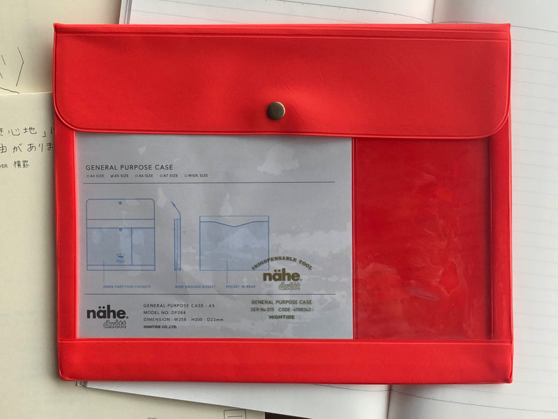 Nähe General Purpose Case - A5 - Red