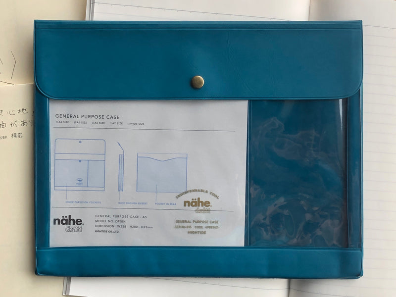 Nähe General Purpose Case - A5 - Blue