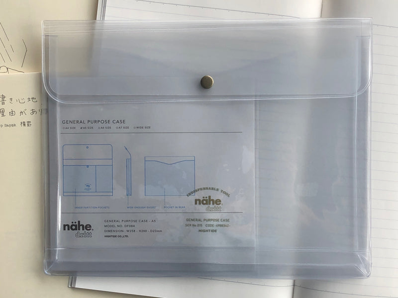 Nähe General Purpose Case - A5 - Clear