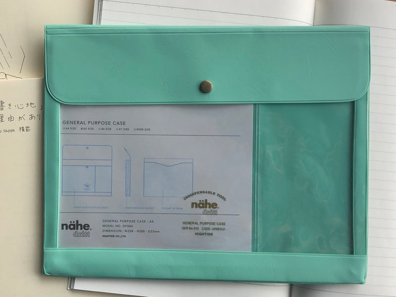 Nähe General Purpose Case - A5 - Mint