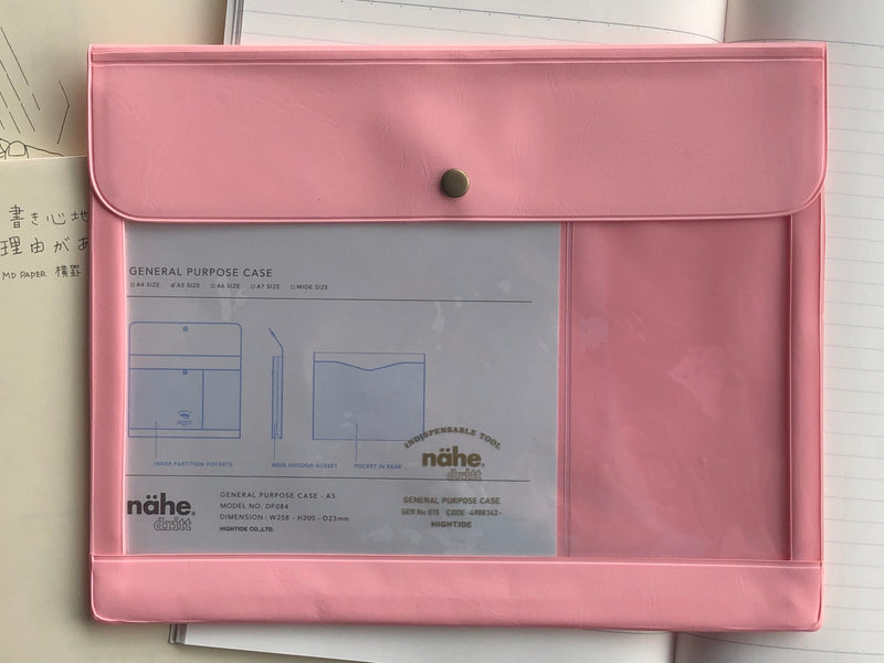 Nähe General Purpose Case - A5 - Pink