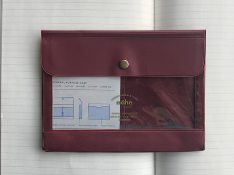 Nähe General Purpose Case - A6 - Wine