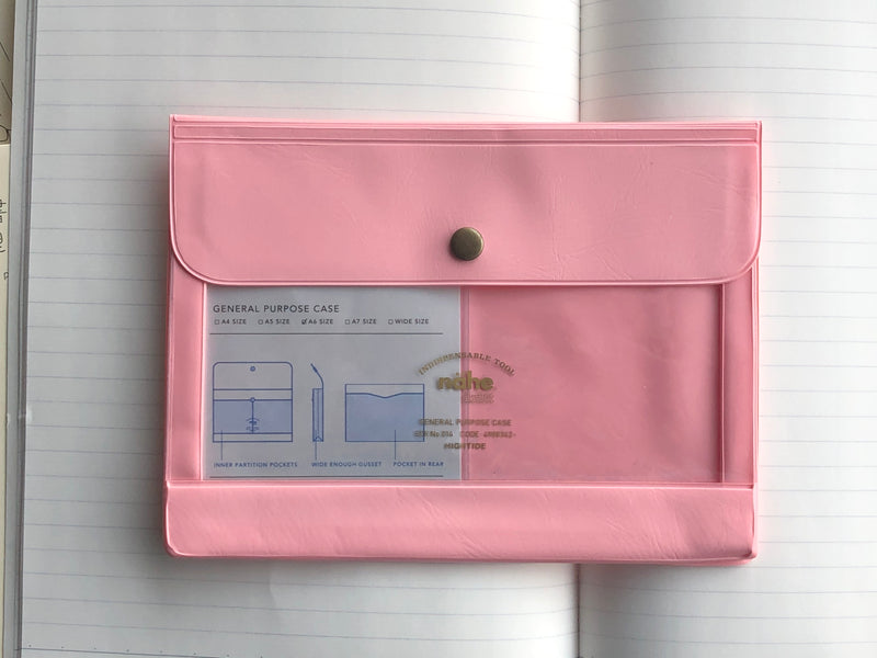 Nähe General Purpose Case - A6 - Pink
