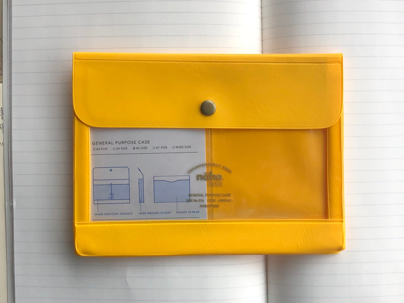 Nähe General Purpose Case - A6 - Yellow