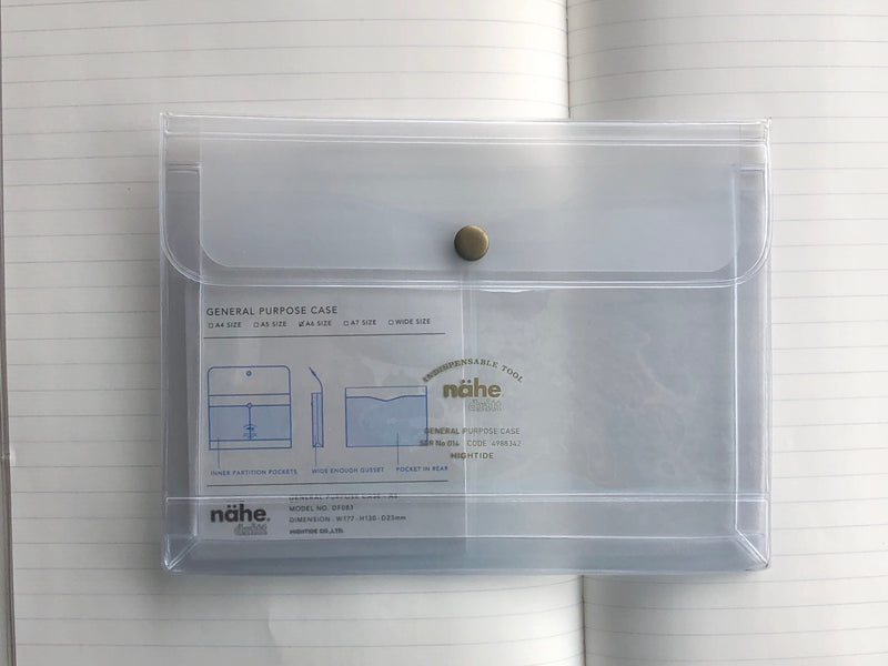 Nähe General Purpose Case - A6 - Clear
