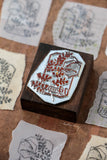 LCN Fern Specimen Metal Stamp - No. 9