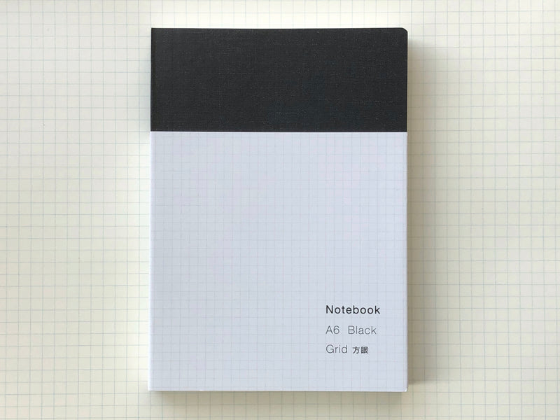 Ito Bindery Notebook - A6 - Grid
