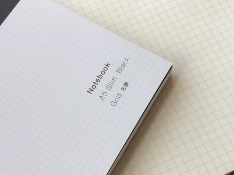 Ito Bindery Notebook - A5 Slim - Grid
