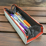 yoseka stationery Kokuyo Square Pencil Case japanese pencilcase pencil pouches pencils