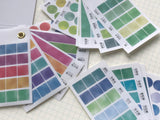 Kamio Color Swatch Washi Sticker Booklet