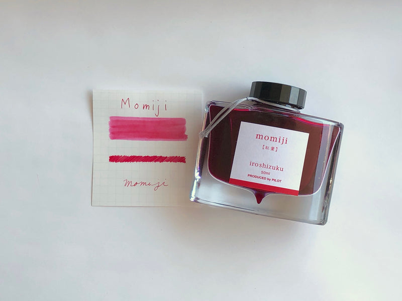 Pilot Iroshizuku Ink - Momiji - 50 mL Bottle Ink