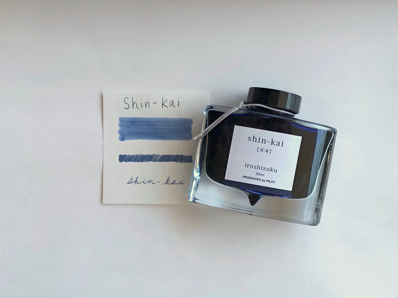 Pilot Iroshizuku Ink - Shin-kai - 50 mL Bottle Ink