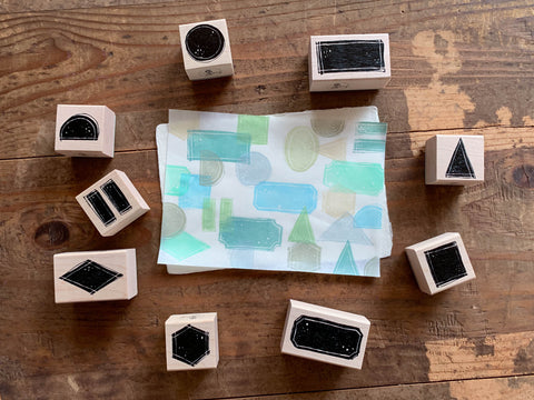 LCN Color Blocks Stamp Set