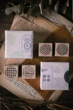 LCN Round Pattern Stamp Set