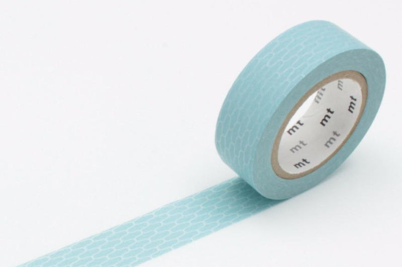 mt Washi Tape - Wicker Ajiro-Hisoku (Celadon)