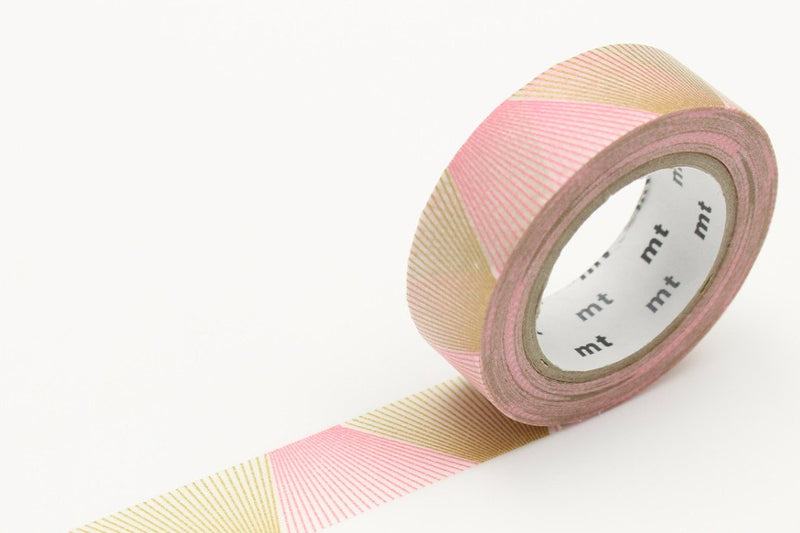 mt Washi Tape - Line Gradation Gold