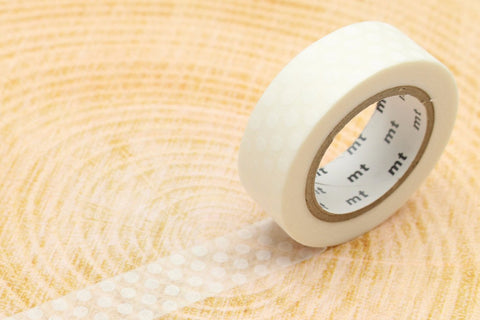 mt Washi Tape - Dot White
