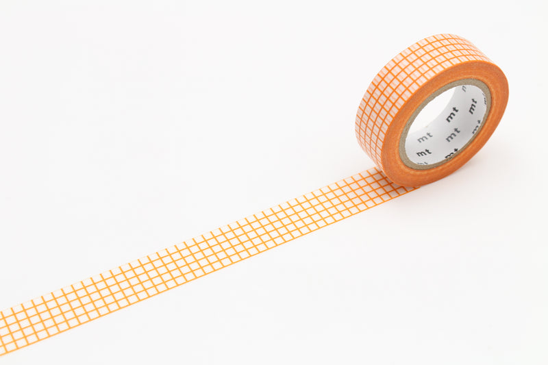 mt Washi Tape - Graph Hougan Mandarin