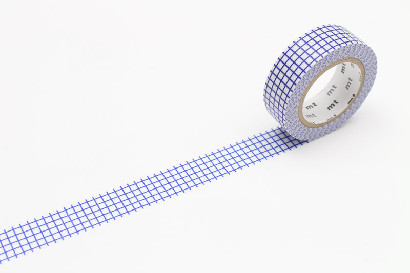 mt Washi Tape - Graph Hougan Blueberry