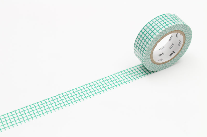 mt Washi Tape - Graph Hougan Emerald