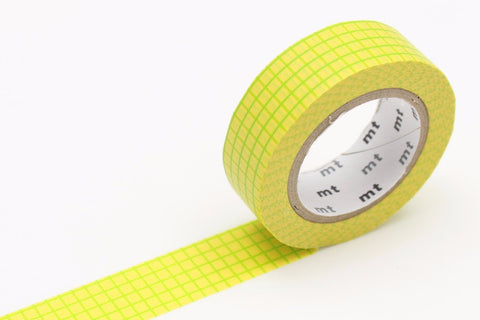 mt Washi Tape - Graph Hougan Field Mustard
