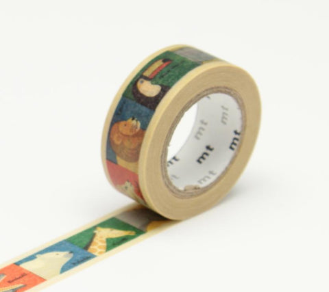 mt Washi Tape - Animal