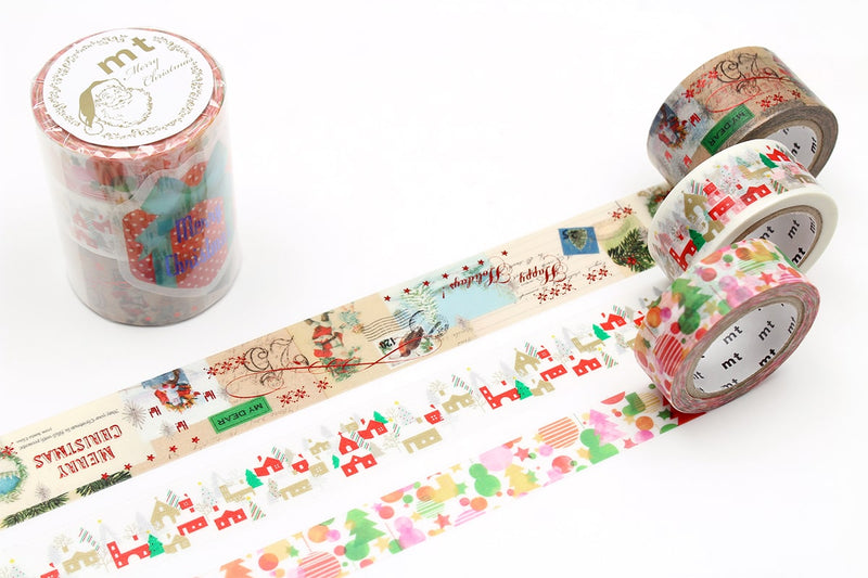 mt Washi Tape - Christmas Set
