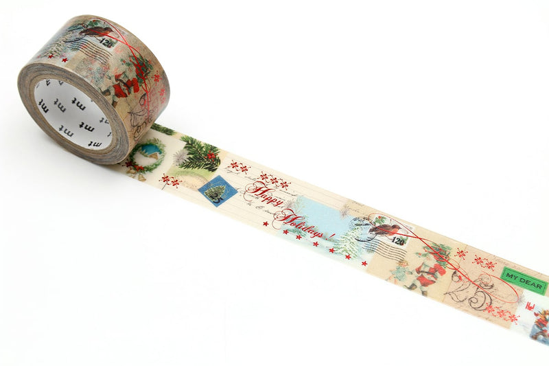 mt Washi Tape - Letters From Santa Claus