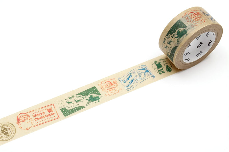 mt Washi Tape - Santa Claus Stamp