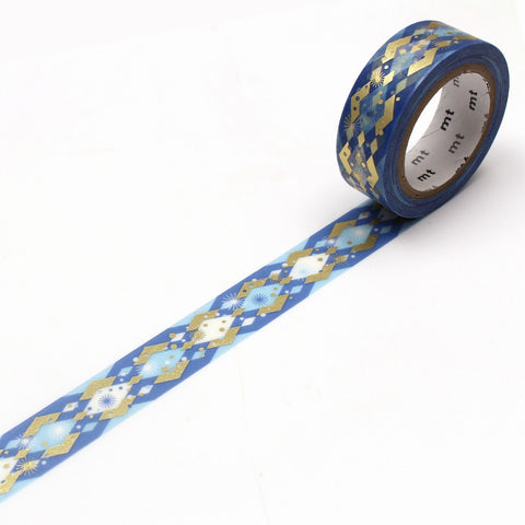 mt Washi Tape - Christmas Diamond Pattern