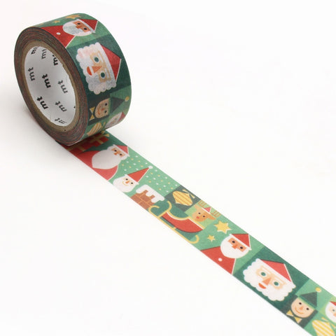 mt Washi Tape - Various Santas