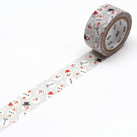 mt Washi Tape - Snowman Dot