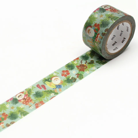 mt ex Washi Tape Southern Santa