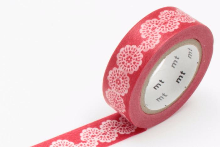 mt Washi Tape - Lace Circle