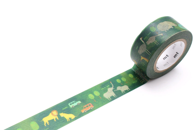 mt Washi Tape - Safari Park