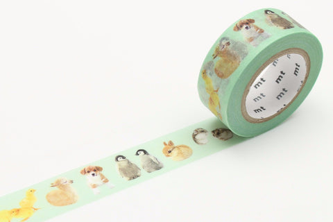 mt Washi Tape - Baby Animals