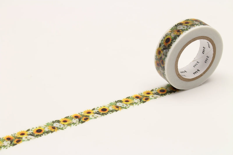 mt Washi Tape - Sunflower