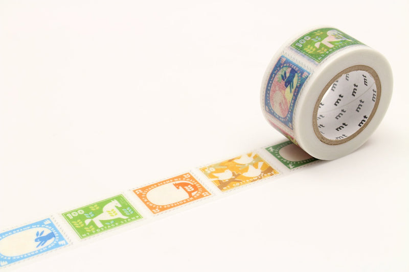 mt Washi Tape - Postage Stamp