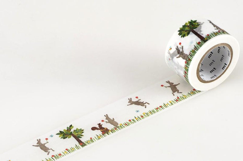 mt Washi Tape - Rabbit and Squirrel