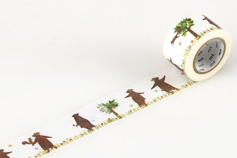 mt Washi Tape - Bear and Squirrel