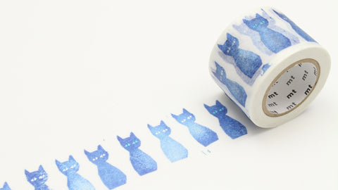 mt Washi Tape - Blue Cat