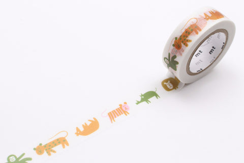 mt Washi Tape - Animals
