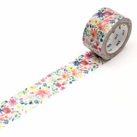 mt x Bluebellgray Washi Tape Zinnia