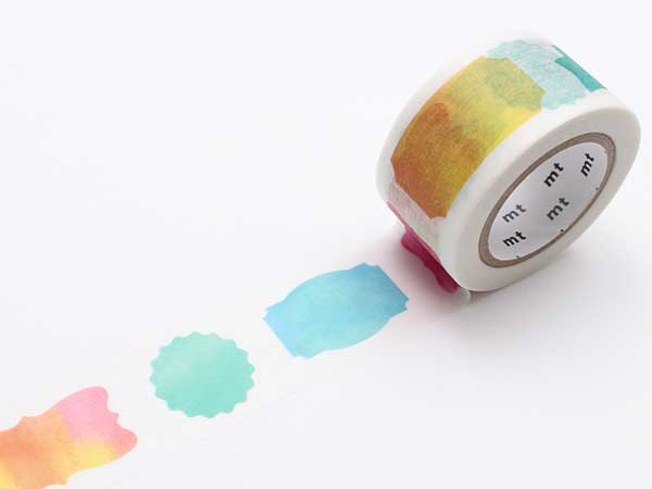 mt Washi Tape - Watercolor Label