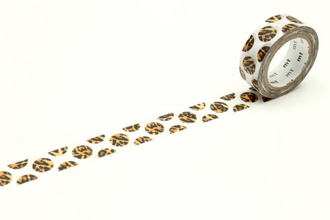 mt ex Washi Tape Dot Leopard