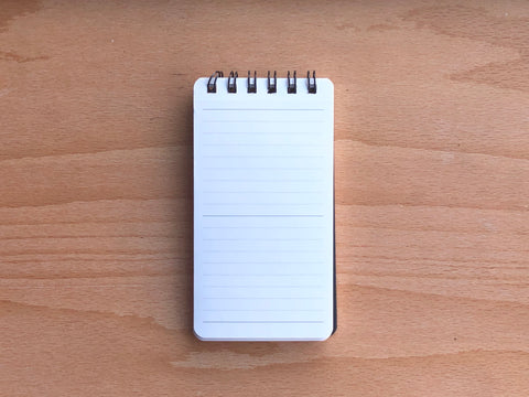 Mnemosyne Memo Notebook - A7 Slim