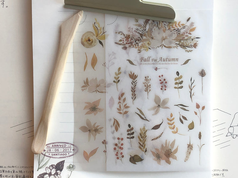 MU Print-On Stickers - Fall for Autumn - #45