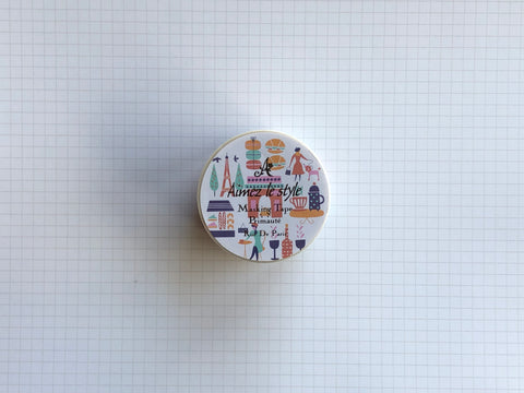 Masking Tape Washi - Rue De Paris